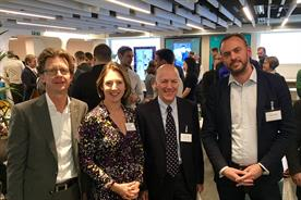 Stefan Lameire, Cadi Jones, William Eccleshare, and Justin Cochrane, Clear Channel UK CEO