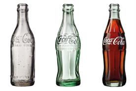 Tribute to an icon: The Coca-Cola bottle