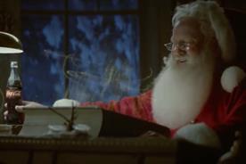 Coke truck returns in revamped ad starring Zero Sugar variant