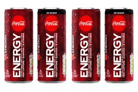 Coca-Cola takes on Red Bull with Coke-branded energy drink