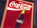 Coke: old display coming down
