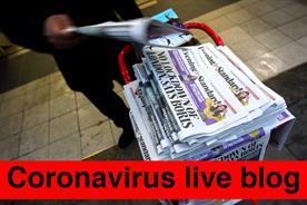 Coronavirus live blog: 14-20 March