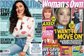 Cosmo hardest hit among declining women's mags