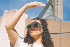 DJ and illustrator Danielle Doobay photographed in Bristol for Ace & Tate by CC Co. in 2019