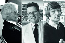 A tribute to David Abbott, Paul Arden and John Webster