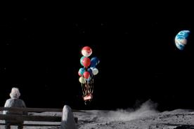 "John Lewis joins with Age UK for ""man on the moon"" Christmas tear-jerker"