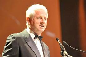 Richard Curtis: picks up The Marketing Society Outstanding Leadership award