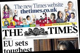 The Times: new website