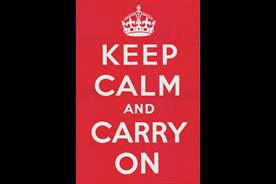 History of Advertising No. 46. 'Keep calm and carry on' poster