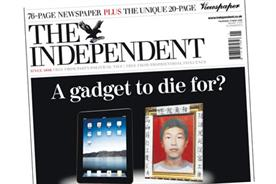 The Independent: Bad press for the iPad