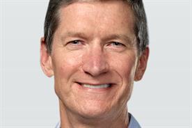 Tim Cook: chief executive, Apple