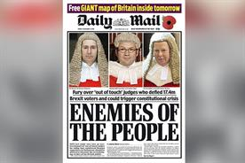 Appointing 'Remainer' Geordie Greig as Dacre's successor is a gamble for Lord Rothermere