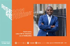 Labour MP David Lammy: 'People need to feel represented and heard'