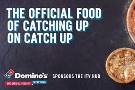 Domino's to sponsor ITV's video on demand offering