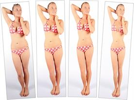 Airbrushing: Credos is using stages of airbrushed images to gauge consumers' perceptions