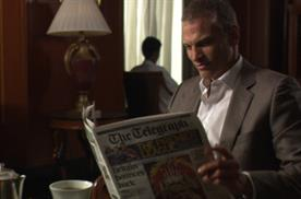 Telegraph launches TV ad for world edition