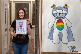 Klara Hinze and her winning design