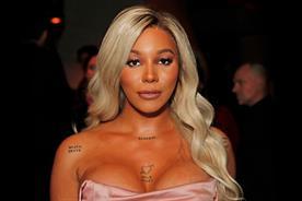 Munroe Bergdorf: model became L'Oréal's first transgender representative in 2017