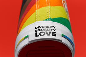 Converse: brand's fifth year celebrating Pride Month