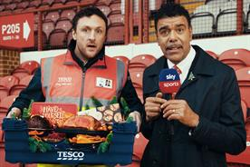 Tesco: Chris Kamara stars in one spot celebrating the brand's centenary