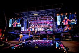 Uber partners English National Opera for drive-in performances