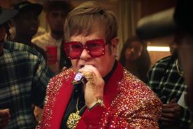 Elton John in Snickers' 'Rap battle' ad