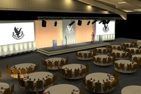 A visualisation of The Gleneagles Arena