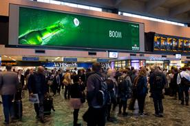 Rail ads: Route recorded more than one billion impacts a week
