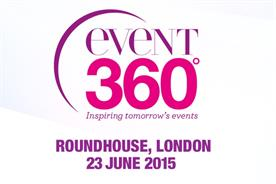 Event will be blogging live from Event360 2015