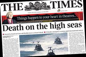 The Times: leads on Israeli attack
