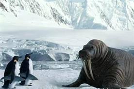 Argos: walrus campaign by CHI & Partners featuring two delivery penguins
