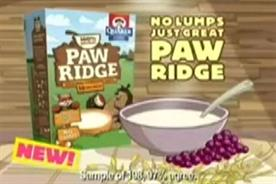 Paw Ridge: PepsiCo drops children's breakfast cereal range