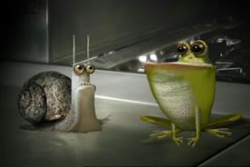 Marmite: Dave the snail and Geoff the frog star in latest campaign