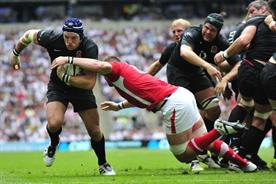 IBM is sponsoring ITV's Rugby World Cup coverage