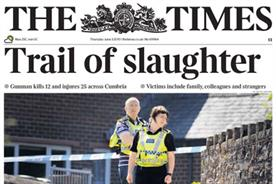 The Times: Mass shooting in Cumbria