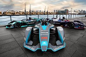Formula E to return to the UK for 2019/20 season (photograph: Formula E)
