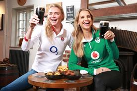 Guinness curates rugby experience with Jodie Kidd and Vogue Williams