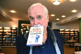 John Cleese: promoting 'Creativity: A Short and Cheerful Guide'