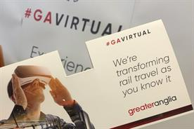 Greater Anglia previews new trains with VR experience