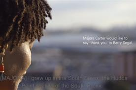 HSBC: its 'Together, We Advance' site carries videos of people thanking their benefactors