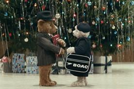 The bears are back in town: Heathrow's endearing teddies return in second Christmas campaign