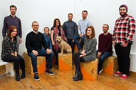 Top brand experience agencies: The Inkling team at its London office in Shoreditch