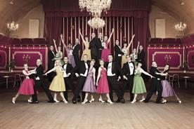 Isobel: agency staff take to the dance floor for their 2013 Christmas card scene