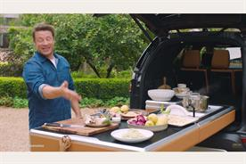 Why Jamie Oliver partnered with Jaguar Land Rover to make a car with a kitchen built into it