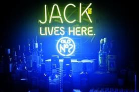 Jack Daniel's uses experiential to communicate a point of view