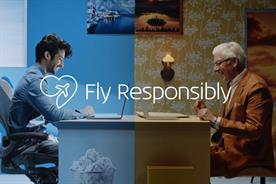 KLM asks people to 'fly responsibly' in marketing push