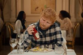 Heinz taps Ed Sheeran for ketchup ad