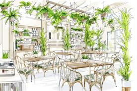 Ketel One highlights sustainability with espresso martini-themed garden