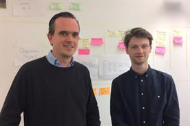 Joe Harrod (left) and John St Leger of Havas Cognitive