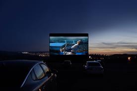 Mitsubishi partners Luna Cinema on drive-in screenings to beat virus
